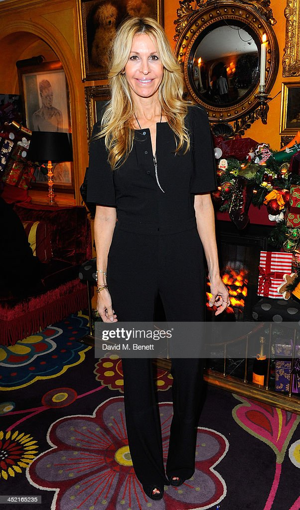 Melissa Odabash attends Veuve Clicquot Style Party at Annabel's on November 26, 2013 in London, England.