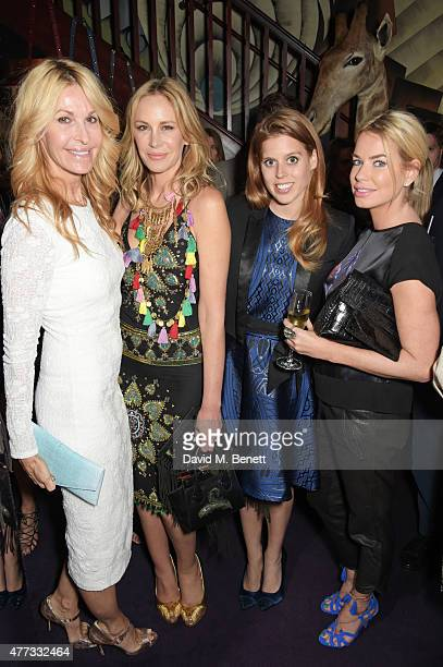 Melissa Odabash Dee Ocleppo Princess Beatrice of York and Caroline Stanbury attend the Walkabout Foundation Event hosted by Dee Ocleppo And Tommy...