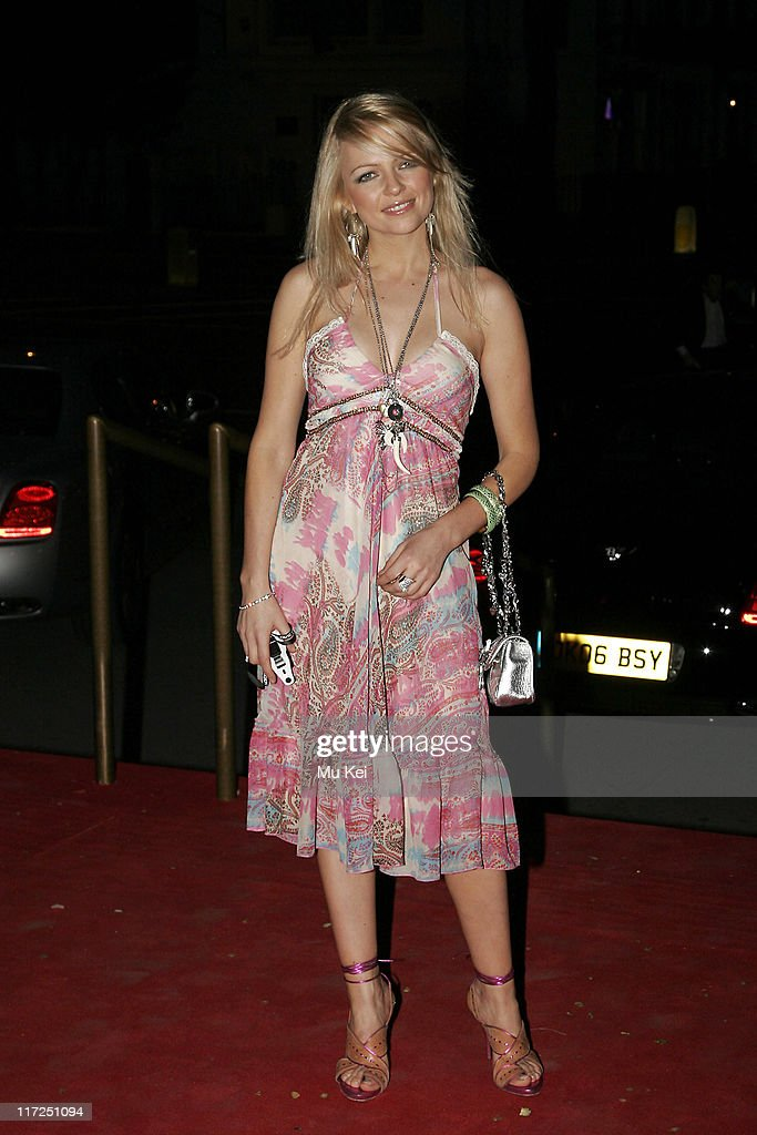 Melissa Odabash during The United Fashion Forum Review – Odabash MacDonald – Launch - Arrivals at Victoria & Albert Museum in London, Great Britain.