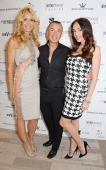 Melissa Odabash Julien Macdonald and Tamara Ecclestone attend the Amber Lounge 2014 Gala at Le Meridien Beach Plaza Hotel on May 23 2014 in Monaco...