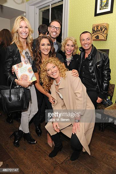 Melissa Odabash Natasha Corrett Jason Gardiner Brix SmithStart Julien Macdonald and Kelly Hoppen attend the launch of Natasha Corrett and Vicki...