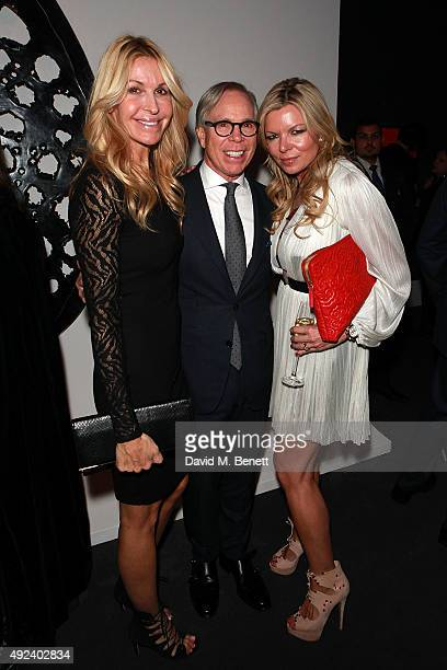 Melissa Odabash Tommy Hilfiger and Fru Tholstrup attend The Contemporary Art Party hosted by Tommy Hilfiger Dylan Jones and the directors of...