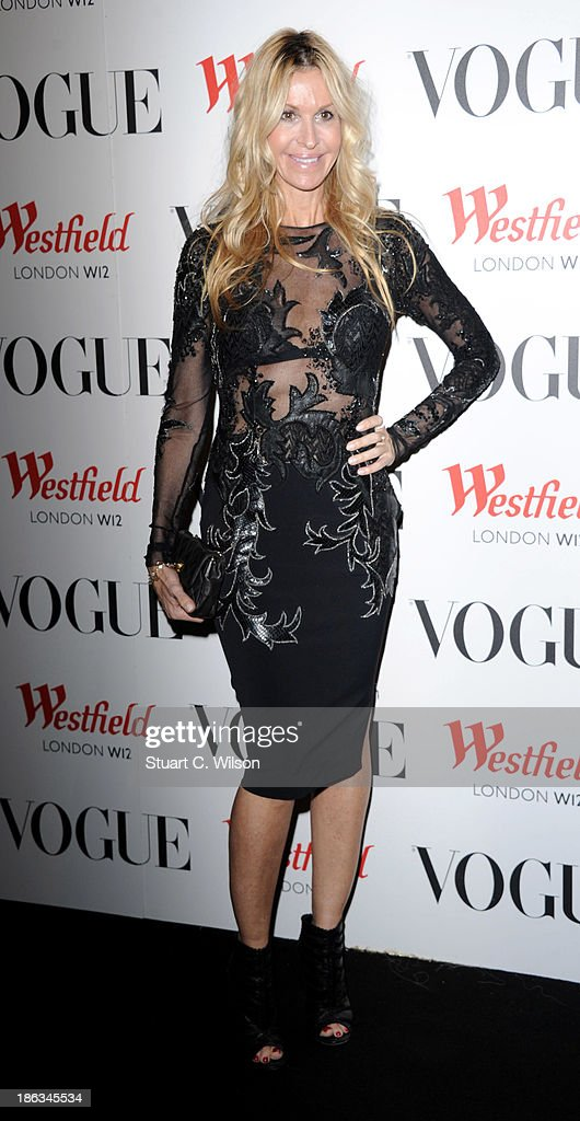Melissa Oderbash attends the launch of the Vogue Pop Up Club as part of Westfield London's 5th birthday celebrations at Westfield on October 30, 2013 in London, England.