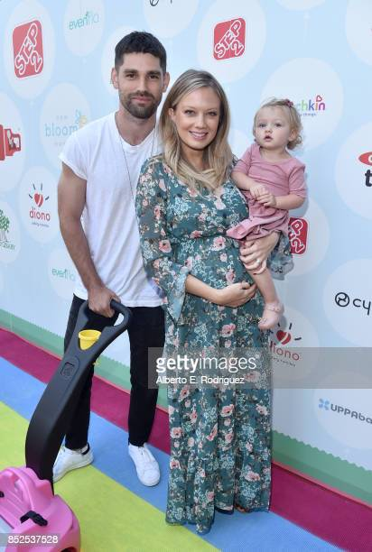Melissa Ordway Justin Gaston and Olivia Christine Gaston at Step 2 Presents 6th Annual Celebrity Red CARpet Safety Awareness Event on September 23...