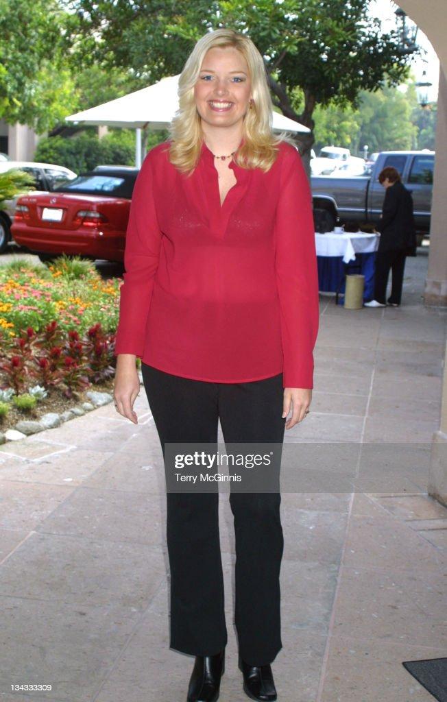 Melissa Peterman during Television Critics Association - Warner Bros. Party, 2001 at Warner Bros. Studios in Burbank, California, United States.