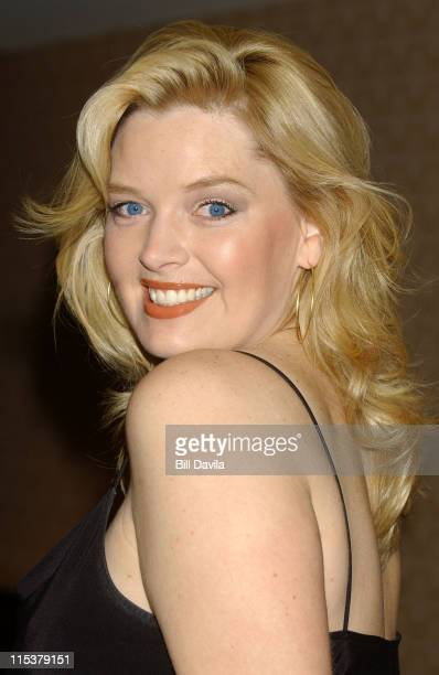 Melissa Peterman during WB Television Network 2003 2004 Upfront Presentation at Sheraton Hotel in New York NY United States