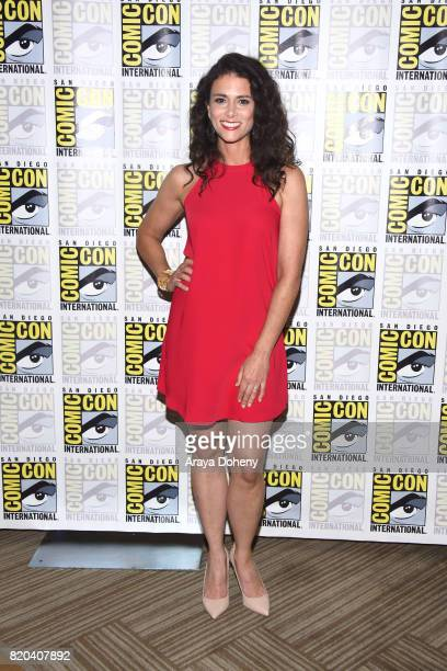 Melissa Ponzio attends the Teen Wolf press conference at ComicCon International 2017 on July 21 2017 in San Diego California