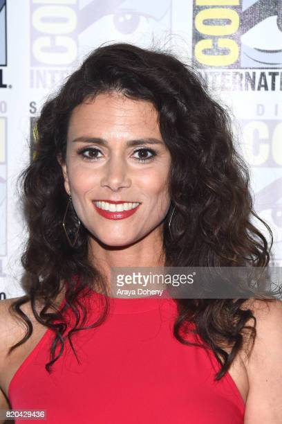 Melissa Ponzio attends the 'Teen Wolf' press conference at ComicCon International 2017 on July 21 2017 in San Diego California