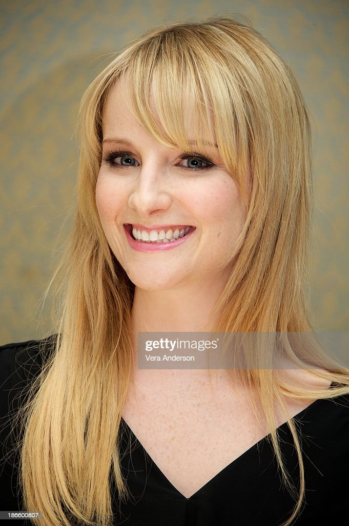 <a gi-track='captionPersonalityLinkClicked' href=/galleries/search?phrase=Melissa+Rauch&family=editorial&specificpeople=887562 ng-click='$event.stopPropagation()'>Melissa Rauch</a> at 'The Big Bang Theory' Press Conference at the Four Seasons Hotel on October 30, 2013 in Beverly Hills.