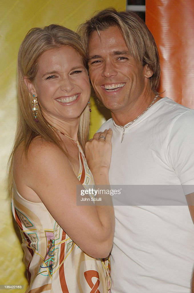Melissa Reeves and Scott Reeves during 2005 NBC Network All Star Celebration Arrivals at Century Club in Los Angeles California United States
