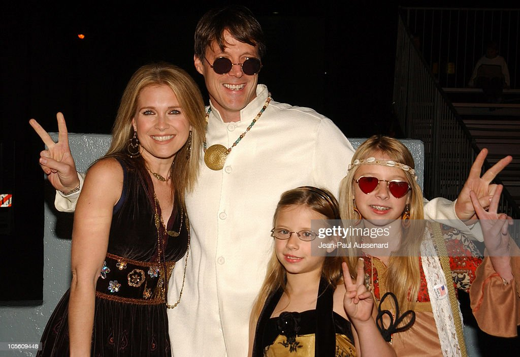 Melissa Reeves Matthew Ashford and daughters during NBC's 'Days of Our Lives' 40th Anniversary Celebration at Hollywood Palladium in Hollywood...