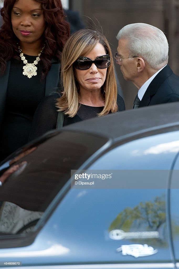 Melissa Rivers attends the Joan Rivers memorial service at Temple EmanuEl on September 7 2014 in New York City Rivers passed away on September 4 2014...