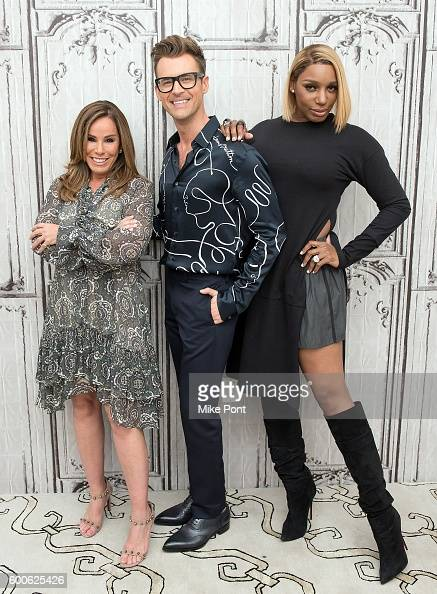 Melissa Rivers Brad Goreski and NeNe Leakes attend the AOL Build Speaker Series to discuss 'The Fashion Police' and the upcoming New York Fashion...