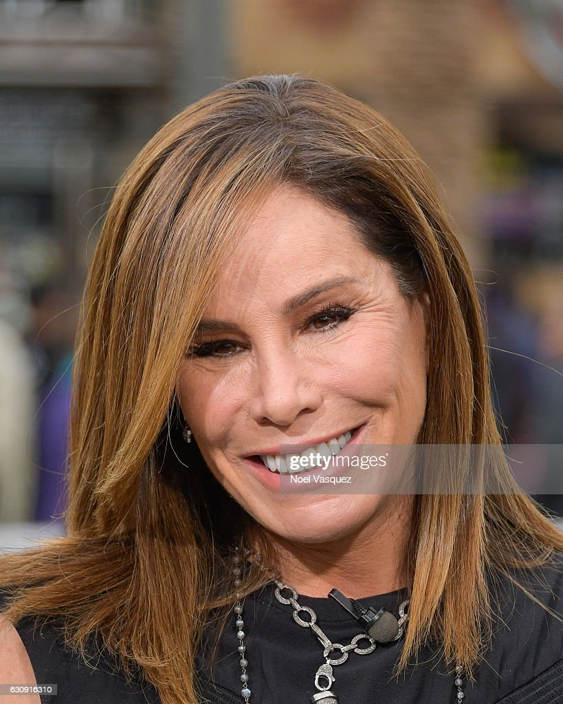 Melissa Rivers visits 'Extra' at Universal Studios Hollywood on January 3, 2017 in Universal City, California.