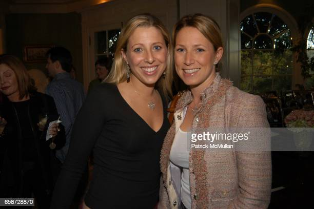 Melissa Roos and Sylvia Arnold attend A party celebrating the preview of the latest collections of Peace and Love Jewelry by Nancy Davis Badgley...