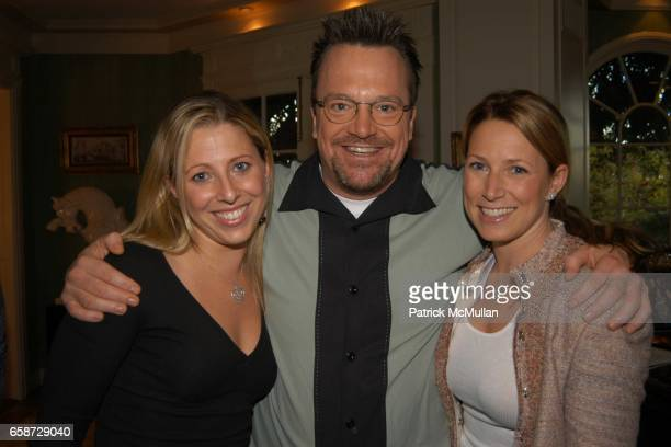 Melissa Roos Tom Arnold and Sylvia Arnold attend A party celebrating the preview of the latest collections of Peace and Love Jewelry by Nancy Davis...