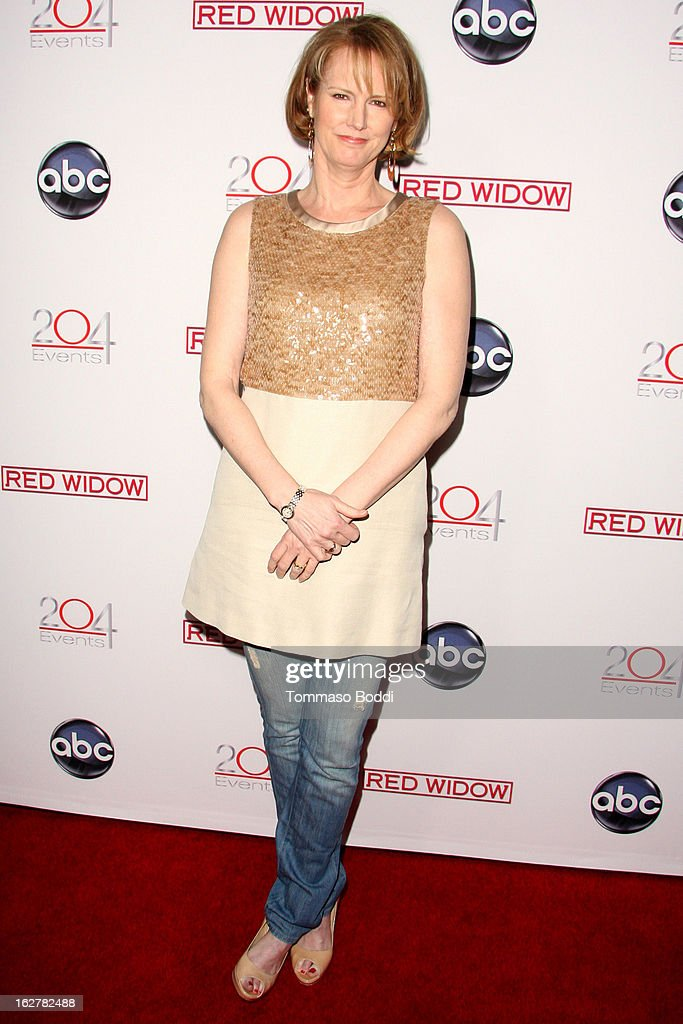 Melissa Rosenberg attends the ABC's new series 'Red Widow' held at Romanov Restaurant Lounge on February 26, 2013 in Studio City, California.