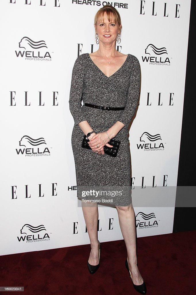 Melissa Rosenberg attends the ELLE Women in Television Celebration presented by Hearts on Fire Diamonds and Wella Professionals held at Soho House on January 24, 2013 in West Hollywood, California.