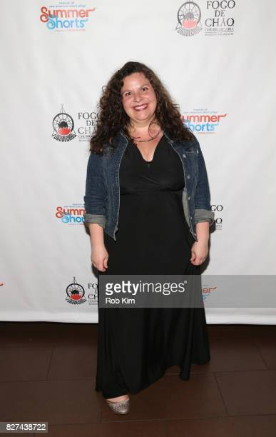 Melissa Ross attends the OffBroadway opening night party for 'SUMMER SHORTS 2017' at Fogo de Chao Churrascaria on August 7 2017 in New York City