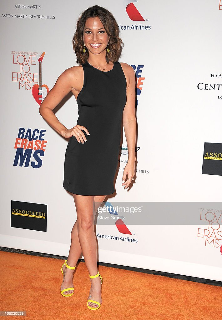 Melissa Rycroft arrives at the 20th Annual Race To Erase MS Gala 'Love To Erase MS' at the Hyatt Regency Century Plaza on May 3, 2013 in Century City, California.