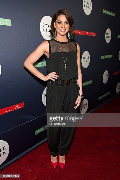 Melissa Rycroft attends the Matrix Biolage Cleansing Conditioner Launch Event at Crosby Street Hotel on February 19 2015 in New York City