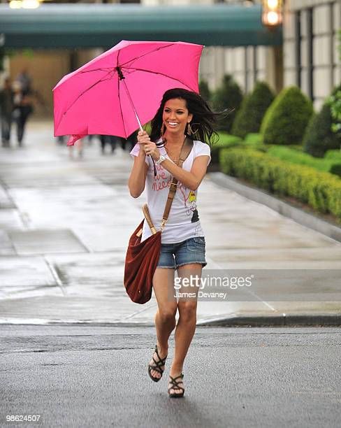 Melissa Rycroft sighting on 5th Ave on April 22 2010 in New York City