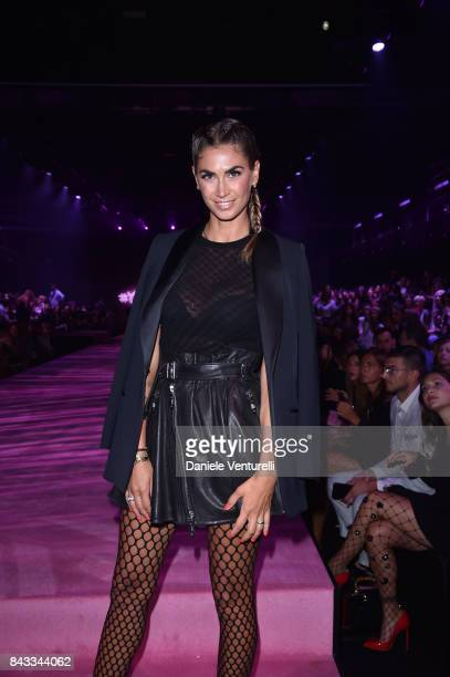 Melissa Satta attends Calzedonia Legs Show on September 6 2017 in Verona Italy