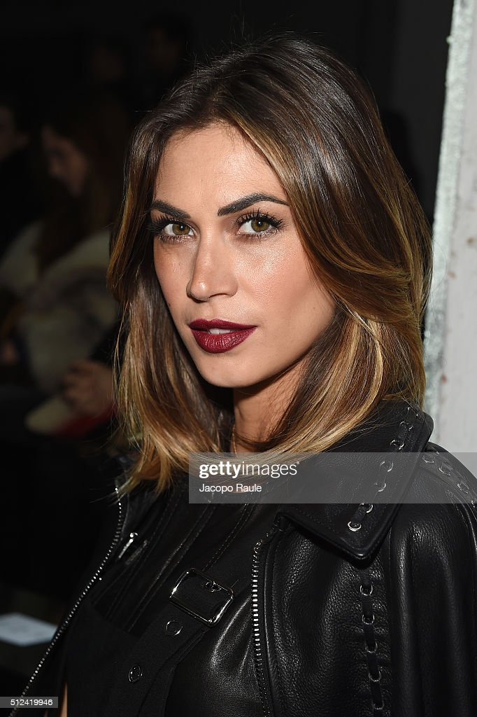 The 32-year old daughter of father Enzo Satta and mother Mariangela Muzzu, 176 cm tall Melissa Satta in 2018 photo