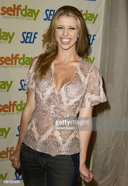 Melissa Schuman during Fourth Annual Self Day Celebration April 9th at Peninsula Hotel in Westwood California United States