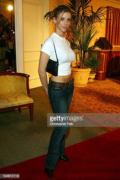 Melissa Schuman during InStyle Sneak Peek at Red Carpet Fashion for the 2003 Awards Season at Beverly Hills Hotel in Beverly Hills CA United States
