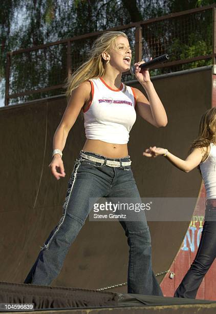 Melissa Schuman of Dream during KIIS FM 1027 Concert at Knotts Berry Farm in Anaheim California United States
