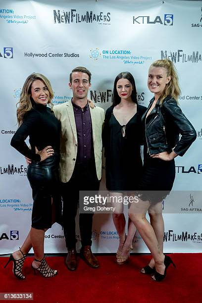 Melissa Stein Nick McLoughlin Lexy Hammonds and Brie Kristiansen attend the NewFilmmakers Los Angeles On Location 2016 Film Festival at Hollywood...
