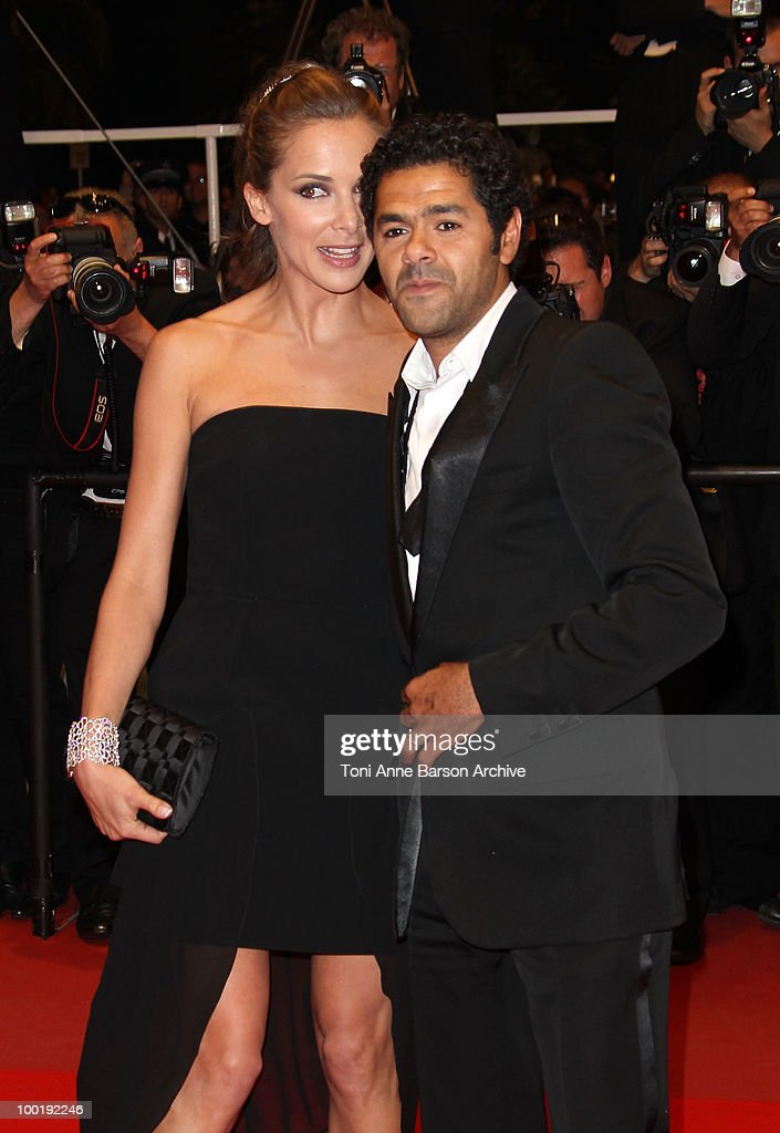 Melissa Theuriau and Jamel Debbouze attend the 'Outside the Law' Premiere at the Palais des Festivals during the 63rd Annual International Cannes Film Festival on May 21, 2010 in Cannes, France.