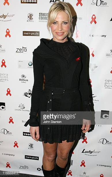 Melissa Tkautz during Fashion TV and Red Ribbon Charity Gala at Sydney Opera House in Sydney NSW Australia
