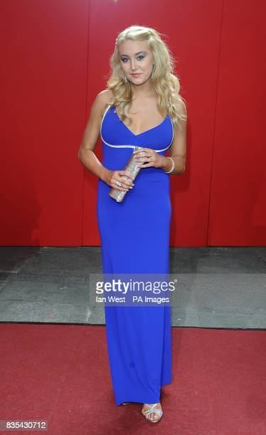 Melissa Walton arriving for the 2009 British Soap Awards at the BBC Television Centre Wood Lane London