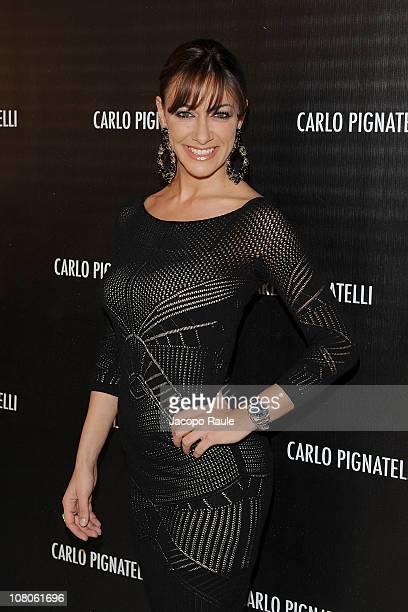 Melita Tonilo attends Carlo Pignatelli Outside during Milan Fashion Week Menswear A/W 2011 on January 15 2011 in Milan Italy