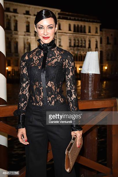 Melita Toniolo attends 'Diva e Donna' Party during the 71st Venice Film Fetival at Centurion Palace Hotel on September 3 2014 in Venice