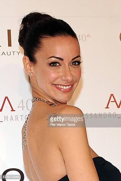 Melita Toniolo attends the Alessandro Martorana birthday party at Four Seasons Hotel on March 6 2014 in Milan Italy