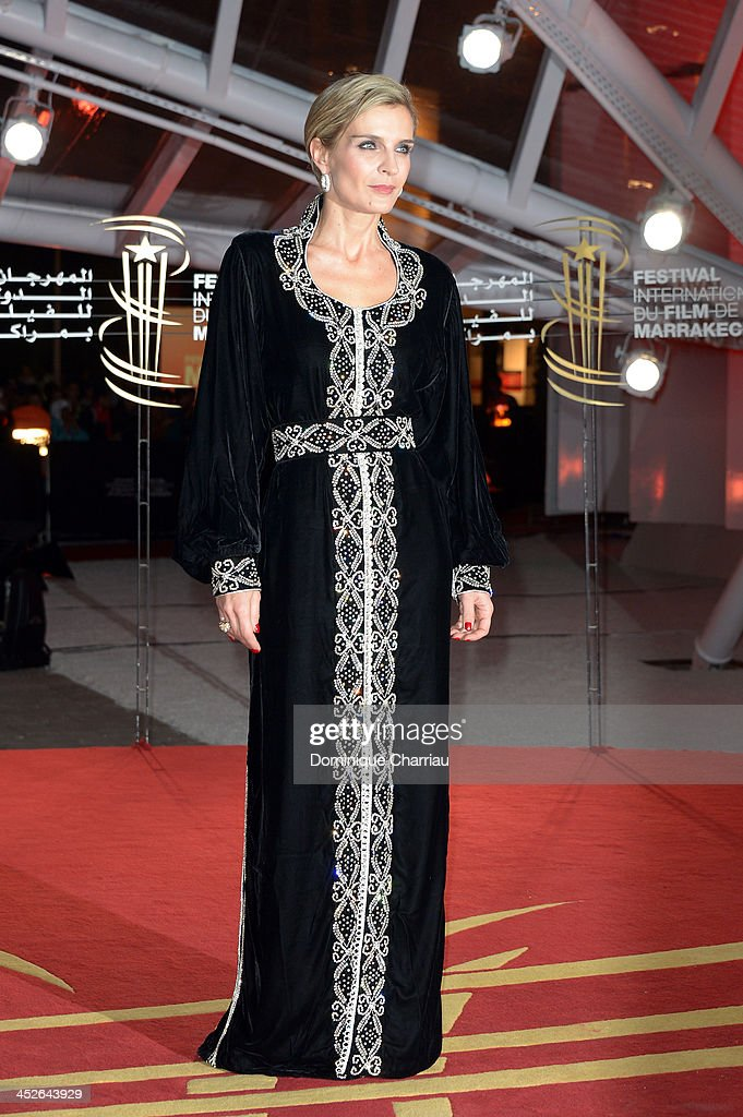 Melita Toscan du Plantier attends the 'A Thousand Times Good Night' premiere during the 13th Marrakech International Film Festival on November 30, 2013 in Marrakech, Morocco.