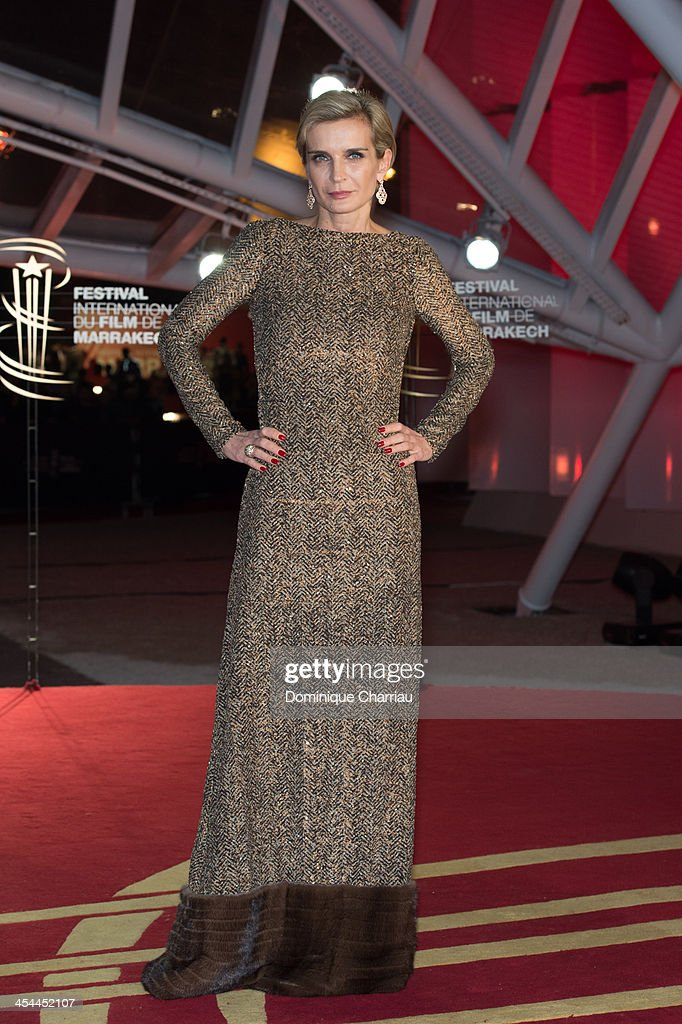 Melita Toscan du Plantier attends the award Ceremony 2013' At 13th Marrakech International Film Festival on December 7, 2013 in Marrakech, Morocco.