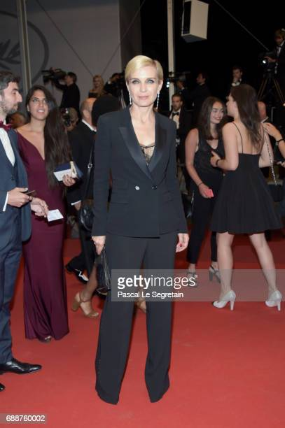 Melita Toscan du Plantier attends the 'In The Fade ' screening during the 70th annual Cannes Film Festival at Palais des Festivals on May 26 2017 in...
