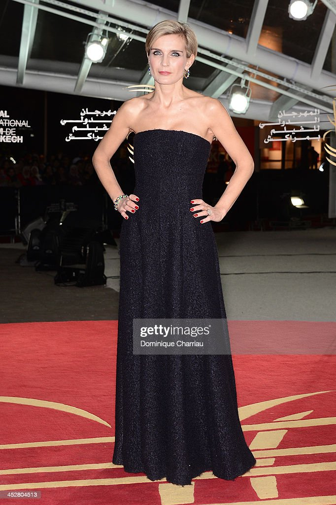 Melita Toscan du Plantier attends the 'Like Father, Like Son' premiere during the 13th Marrakech International Film Festival on December 1, 2013 in Marrakech, Morocco.