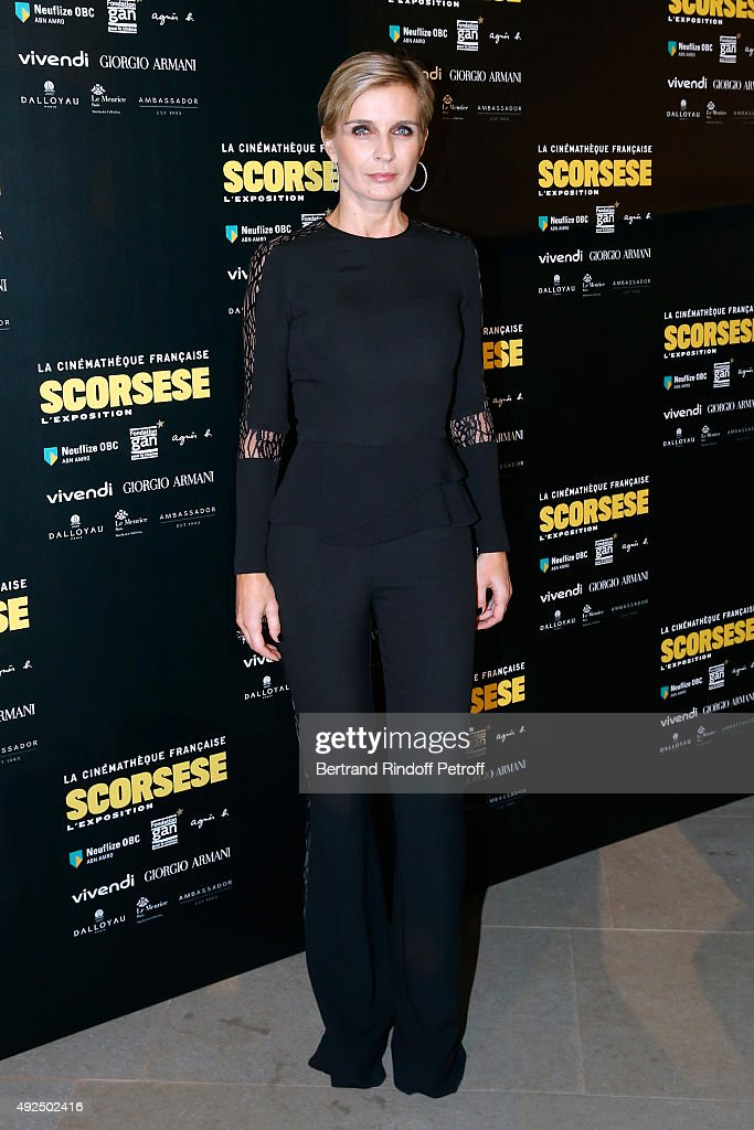 Melita Toscan du Plantier attends the Tribute to Director Martin Scorsese at Cinematheque Francaise on October 13, 2015 in Paris, France.