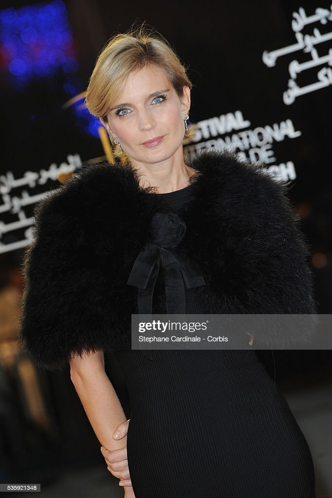 Melita Toscan du Plantier attends the Tribute to Harvey Keitel during the10th Marrakech Film Festival, in Marrakech.
