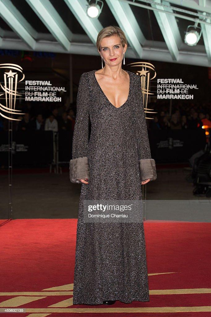 Melita toscan du Plantier attends the 'Waltz With Monica' Premiere At 13th Marrakech International Film Festival on December 4, 2013 in Marrakech, Morocco.