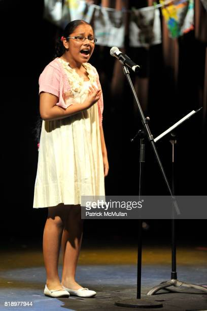 Meliza attends The East Harlem School presents 2010 Spring Poetry Slam at Highline Ballroom on May 4 2010 in New York City