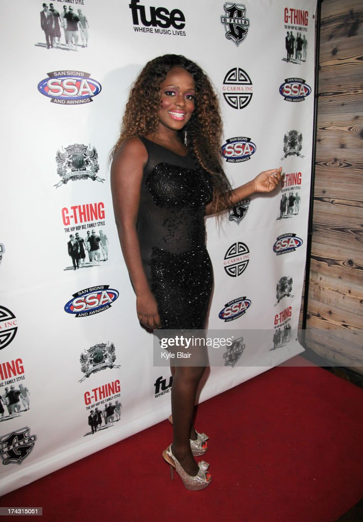 Melky Jean attends the 'G-Thing' Series Premiere Party at The Griffin on July 23, 2013 in New York City.