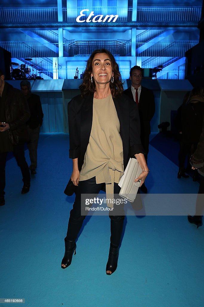 ETAM : Front Row - Paris Fashion Week Womenswear Fall/Winter 2015/2016