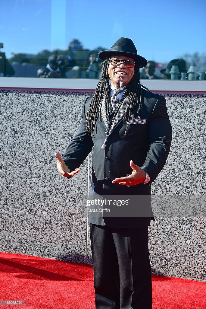 Melle Mel arrives at the 2014 Trumpet Awards at Cobb Energy Performing Arts Center on January 25, 2014 in Atlanta, Georgia.