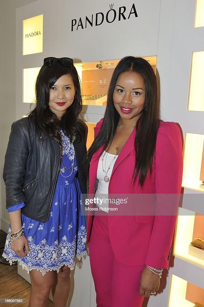 Mellisaa Lum and Trina attend the PANDORA celebrates Mother's Day at PANDORA at Perimeter Mall on May 4, 2013 in Atlanta, Georgia.